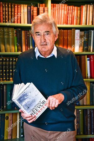 Stock Picture of Antony Beevor Military historian.