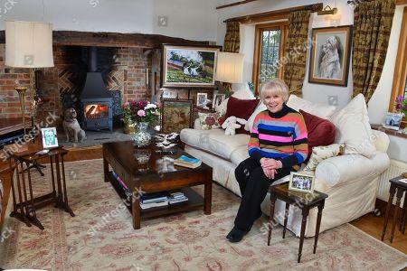Wendy Craig at home