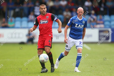 Grimsby's John Welsh and Macclesfield's Danny Whitaker