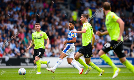 (l-r) John Fleck of Sheffield United, Massimo Luongo of QPR, Chris Basham and Richard Stearman of Sheffield United