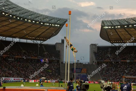 Pole Vault Women Final At The Olympic Stadium In Berlin