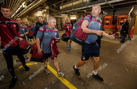 Dublin vs Galway. Galway Manager Kevin Walsh