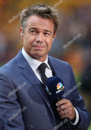 Stock Image of NBC pundit Graeme Le Saux