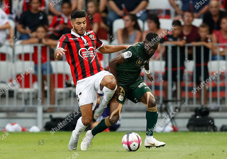 Editorial photo of OGC Nice vs Reims, France - 11 Aug 2018