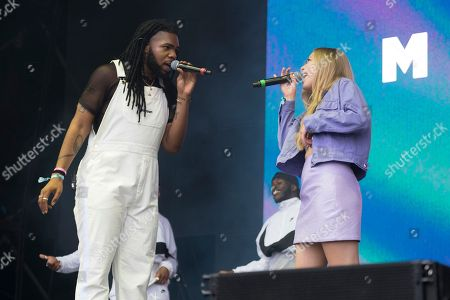 MNEK and Becky Hill