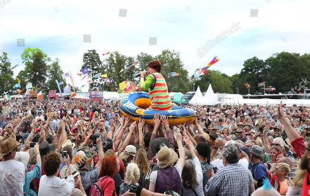 Editorial image of Fairport's Cropredy Convention, UK - 11 Aug 2018