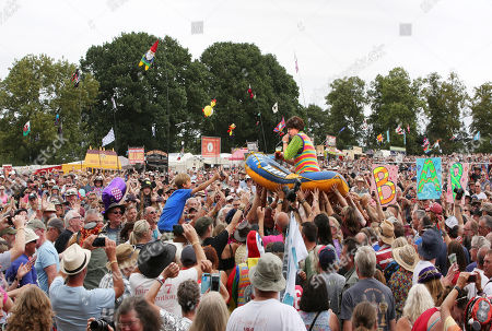 Editorial picture of Fairport's Cropredy Convention, UK - 11 Aug 2018