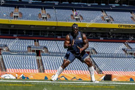 Editorial photo of Vikings Broncos Football, Denver, USA - 11 Aug 2018