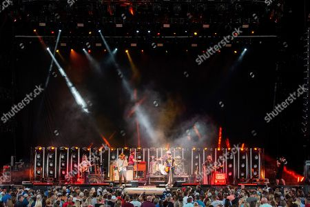 Editorial photo of Dierks Bentley in Concert - , GA, Alpharetta, USA - 11 Aug 2018