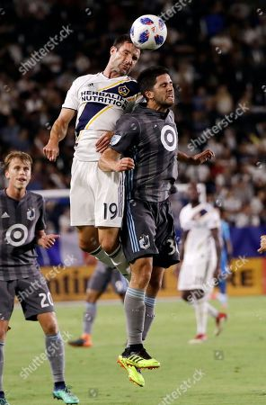 Editorial picture of Minnesota United Galaxy Soccer, Carson, USA - 11 Aug 2018