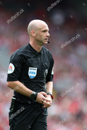 Stock Photo of Referee Andy Taylor