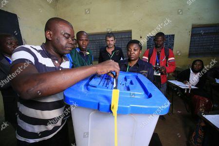 Editorial image of Malian presidential election run-off, Bamako, Mali - 12 Aug 2018
