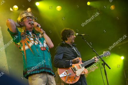 Editorial image of Party at the Palace music festival, Linlithgow Palace, Scotland, UK - 12th August 2018