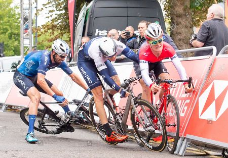 Editorial image of HSBC UK Grand Prix Series - Leicester Castle Classic. Leicester, UK - 12 Aug 2018