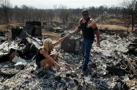 Editorial image of California Wildfires, Redding, USA - 11 Aug 2018