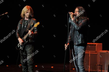 Editorial picture of Kenny Wayne Shepherd in concert at The Broward Center, Fort Lauderdale, USA - 11 Aug 2018