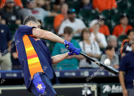 Editorial picture of Legends Astros Baseball, Houston, USA - 12 Aug 2018