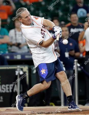 Editorial image of Legends Astros Baseball, Houston, USA - 12 Aug 2018