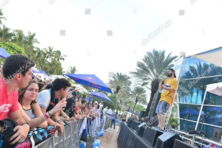 Editorial picture of Y100 Mack-A-Poolooza, Miami Beach, USA - 11 Aug 2018
