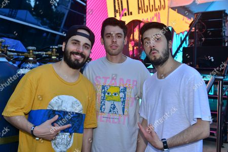 Stock Picture of Cash Cash - Jean Paul Makhlouf, Sam Frisch and Alex Makhlouf