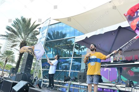 Editorial image of Y100 Mack-A-Poolooza, Miami Beach, USA - 11 Aug 2018