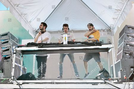 Cash Cash - Alex Makhlouf, Sam Frisch and Jean Paul Makhlouf