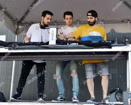 Stock Image of Cash Cash - Alex Makhlouf, Sam Frisch and Jean Paul Makhlouf