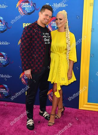 Editorial picture of 2018 Teen Choice Awards - Arrivals, Inglewood, USA - 12 Aug 2018