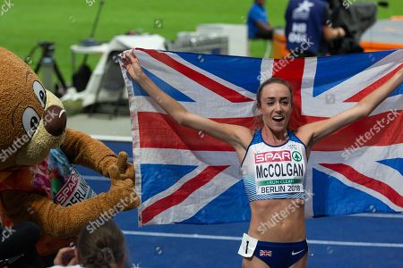 Eilish McColgan, GBR, second. 5000m Women Final