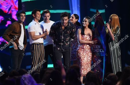 Editorial picture of Teen Choice Awards, Show, Los Angeles, USA - 12 Aug 2018