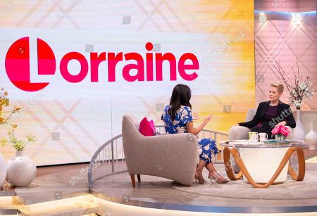 Editorial picture of 'Lorraine' TV show, London, UK - 13 Aug 2018