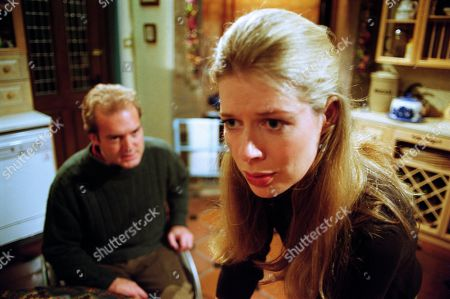 Ep 2621 Wednesday 15th December 1999 Chris is stunned when Claudia gives him a piece of her mind - With Chris Tate, as played by Peter Amory ; Claudia Nash, as played by Susan Duerden.