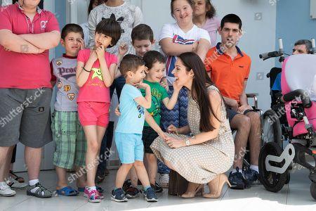 Editorial image of Prince Leka and Princess Elia of Albania photoshoot, Durres, Albania - 10 Aug 2018