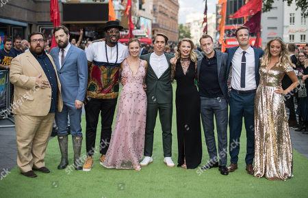 Nick Frost, Iain Morris, Hammed Animashaun, Hannah Tointon, Joe Thomas, Emma Rigby, Theo Barklem-Biggs, Hugh Coles and Claire Jones