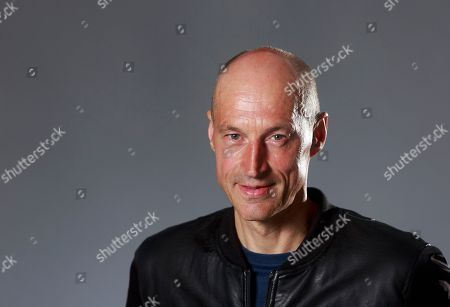 Stock Photo of Graeme Obree cyclist