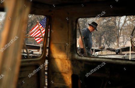 Editorial photo of California Wildfires, Redding, USA - 13 Aug 2018