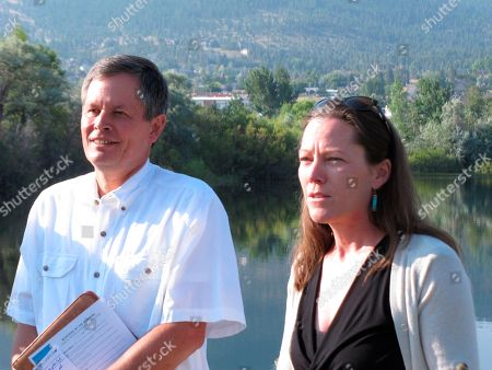 U.S. Sen. Steve Daines, R-Mont., and Prickly Pear Land Trust executive director Mary Hollow urge Congress to permanently reauthorize the Land and Water Conservation Fund during a news conference in Helena, Mont., on . The program, which uses offshore drilling royalties to pay for conservation and outdoor recreation projects across the nation, expires Sept. 30
