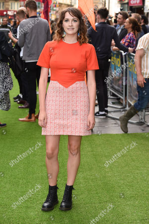 Editorial photo of 'The Festival' film premiere, London, UK - 13 Aug 2018