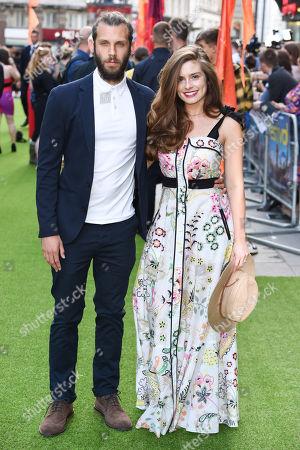Stock Photo of Chris Overton and Rachel Shenton
