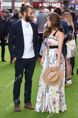 Stock Image of Chris Overton and Rachel Shenton