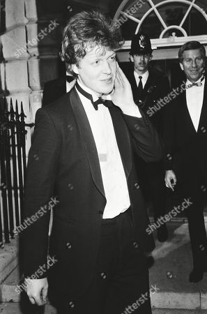 Charles Spencer Viscount Althorp Meets Press Editorial Stock Photo