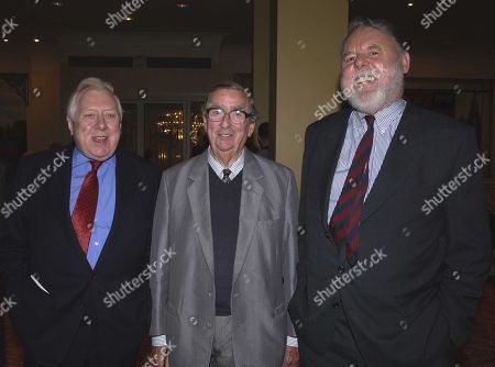 Roy Hattersley Denis Healey and Terry Waite