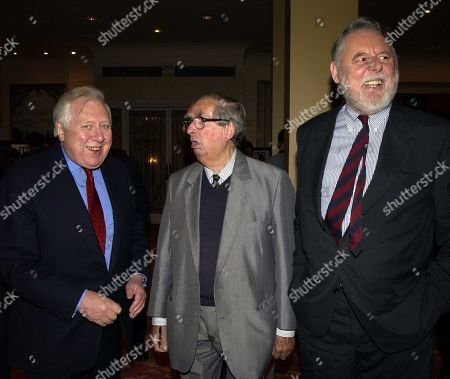 Lord Roy Hattersley Lord Hattersley Lord Denis Healey and Terry Waite