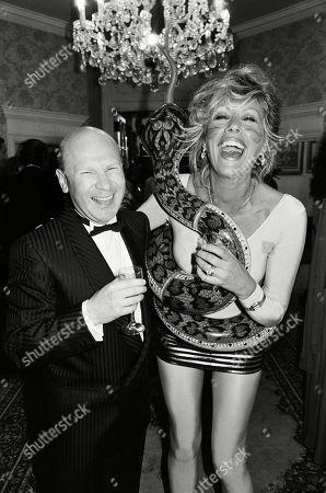 Jeffrey Laine and Sue Lloyd