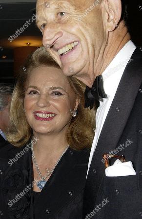 Stock Image of Princess Ira Von Furstenberg and Angus Ogilvy