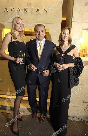 Kaja Wunder Edmond Avakian and Julienne Davis