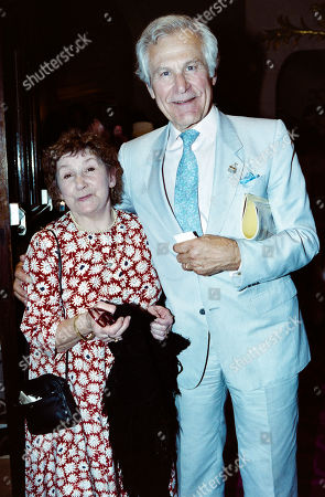 Sam Wanamaker with His Wife Charlotte Holland