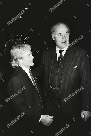 Stock Image of Adam Faith and Iain Cuthbertson
