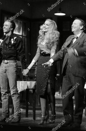 Shaun Cassidy Jerry Hall and David Healy Curtain Call