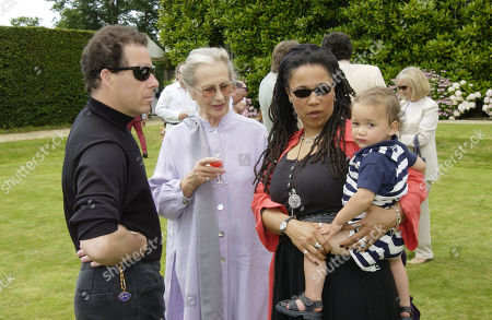 Viscount David Linley Duchess of Richmond Nimmy March with Her Son Malachy